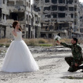 SYRIA-CONFLICT-DAILY LIFE-WEDDING