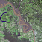 Flooding on the Mississippi River Captured by NASA Spacecraft